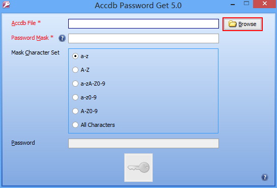 Accdb Password Get ScreenShot